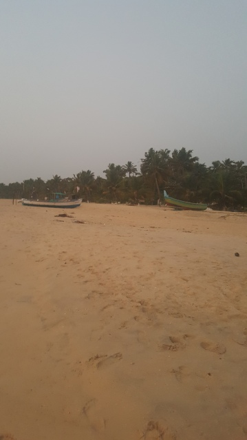 Marari beach.