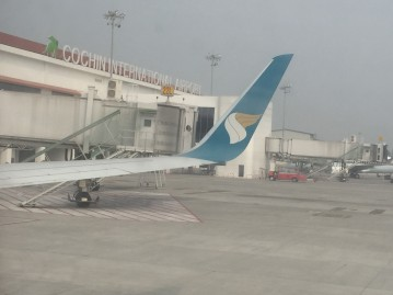 Arrived at Cochin airport!