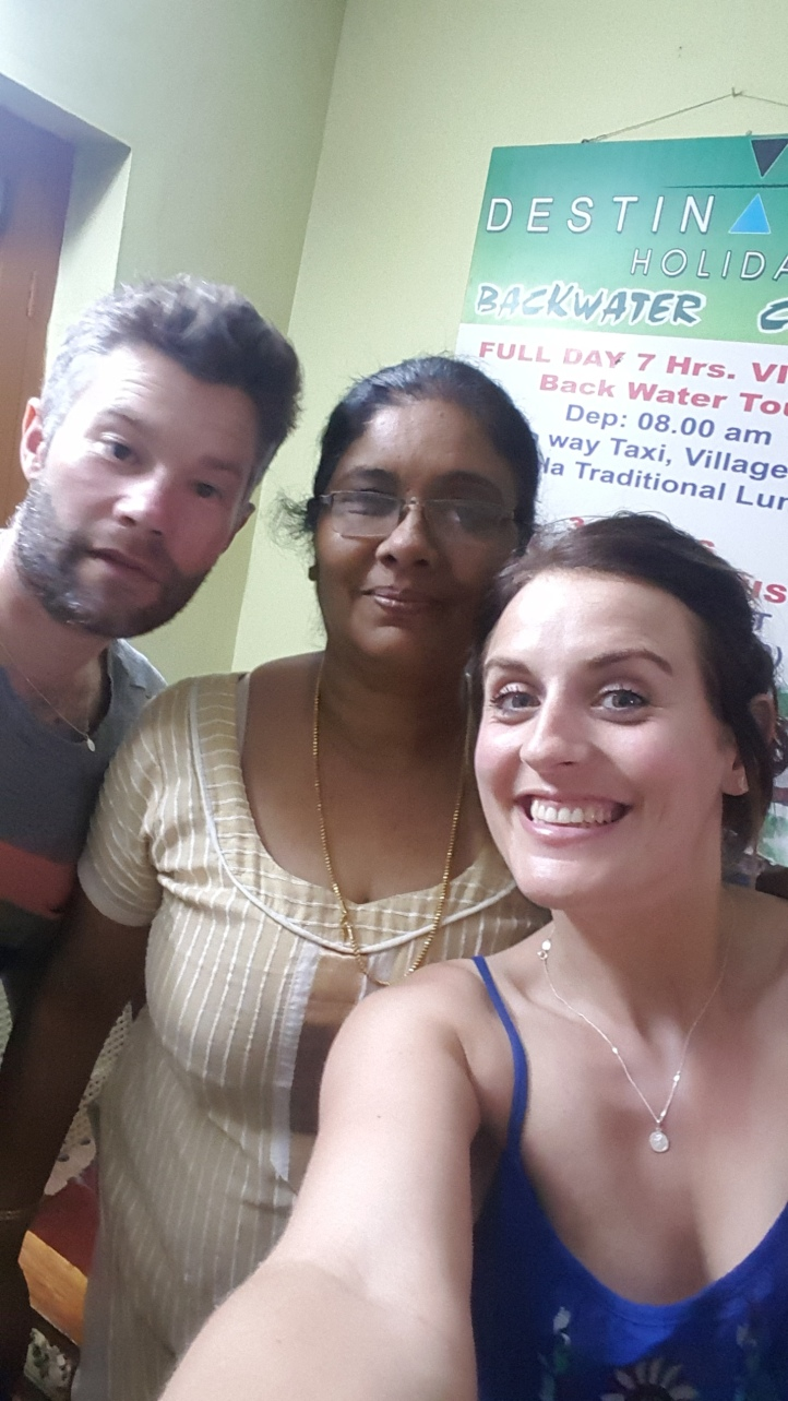 Telma, the lovely owner of The Wright Inn homestay we stayed at whilst in Kochin.