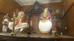 Traditional Kathikali Performance.