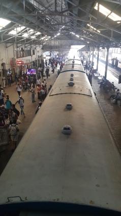 Colombo train station.