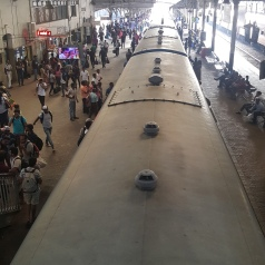 Colombo train station.