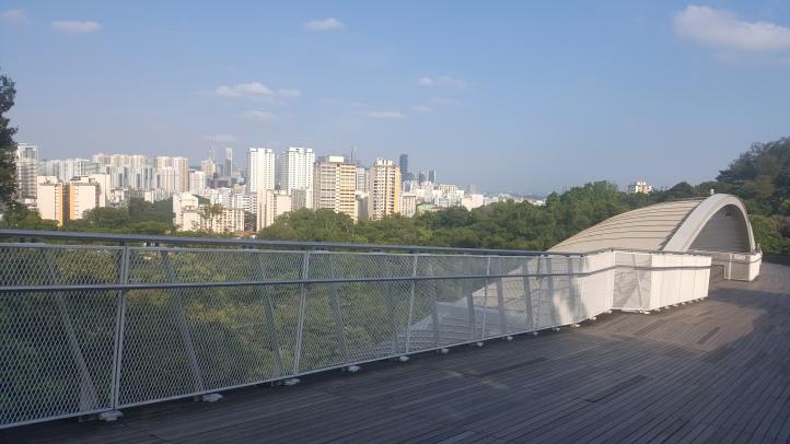 Walkway around the city
