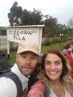 Arriving at Ella Station.
