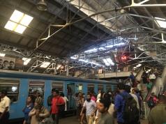 Busy platform.