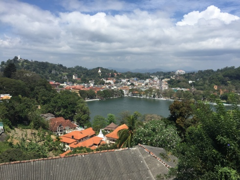 Kandy lake.