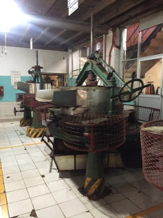 Tea factory machines, same machines for 60 years, still going strong!