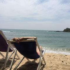 Bay beach.