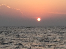 Sunset at Tangalle.