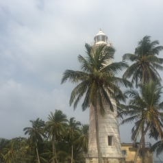 Galle Lighthouse.