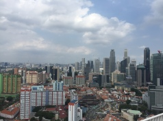 The view from the Pinnacle @ Duxton