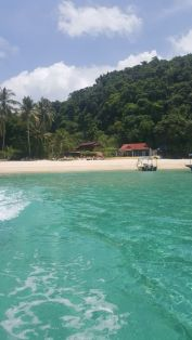 Leaving the island. :(