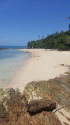 One of the stunning beaches on Kapas.