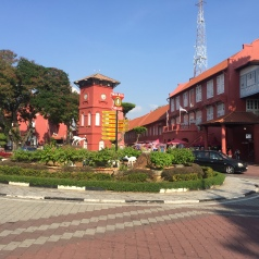 The Dutch Clock, Malacca.