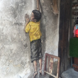 'Little Boy Reaching Up'.