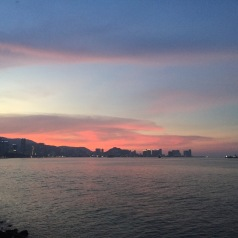 Sunset at Penang.