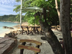 If you take a walk through the hotel at the end of Coral Beach you will find even more beaches!