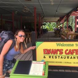 Ewan's cafe.