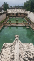Taman Sari Water Palace. The Sultan chose his wife here out of all of the women who showed up.