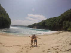 You might even just get a beach like this all to yourselves!