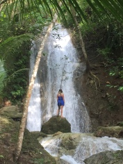 Chasing waterfalls.
