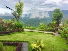 Beautiful gardens and views at Aris homestay.