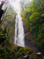 Powerful waterfalls.