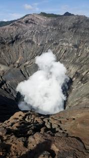 Please don't erupt!