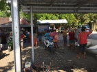 Waiting for our boat to Gili Air.