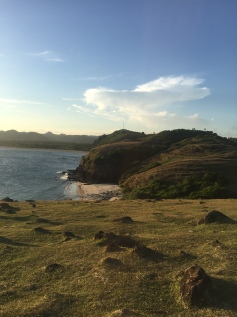 To the right side of Tanjung Aan, a great spot for headland vies and sunset.
