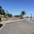 Kuta's promenade, a great place to mix with the locals and watch the sunset.