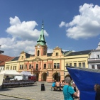 Beer festival in Melnik Square.