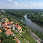River running through Melnik.