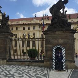 Changing of guards at The Royal Palace.