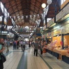 The Budapest Central Market.