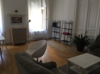 Our lovely Air BnB in Budapest.