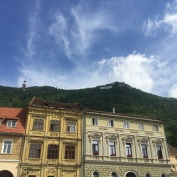 Spotted the 'Hollywood' Brasov sign.