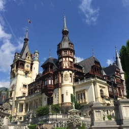 The stunning Peles Castle.