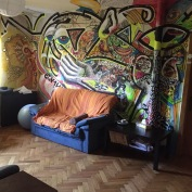Air BnB in Bucharest.