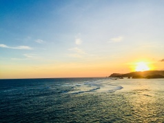 One of Kuta's most beautiful beaches, Tanjung Aan.