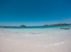 The waters on Gili Air are simply stunning.