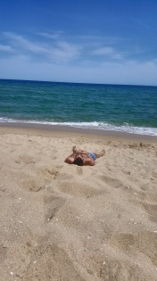 Happy Birthday Mark, relaxing on his favourite place...the beach!