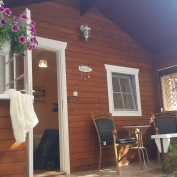 Our lovely, upgraded bungalow.