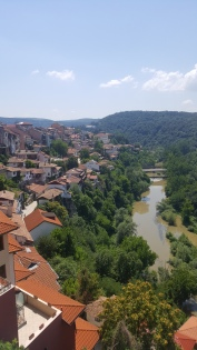 River running through Veliko Tarnavo.