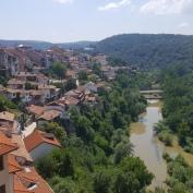 River running through Veliko Tarnavo.