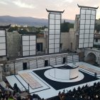 Madame Butterfly in the open air ampitheatre.