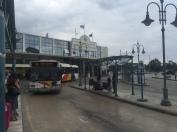 A gloomy arrival in Thessaloniki.