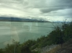 The best photo we got of the stunning scenery on our journey, (not great I know! haha).
