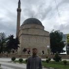 Mark outisde the central mosque.