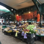 Colourful fruit and veg market!